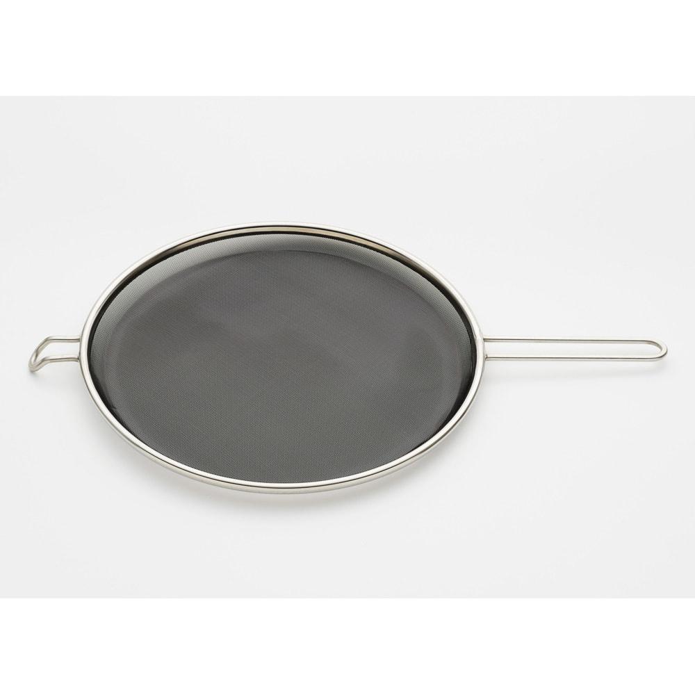 鉄の揚げ鍋3点セット 油ハネをよりガードする油ハネガード
