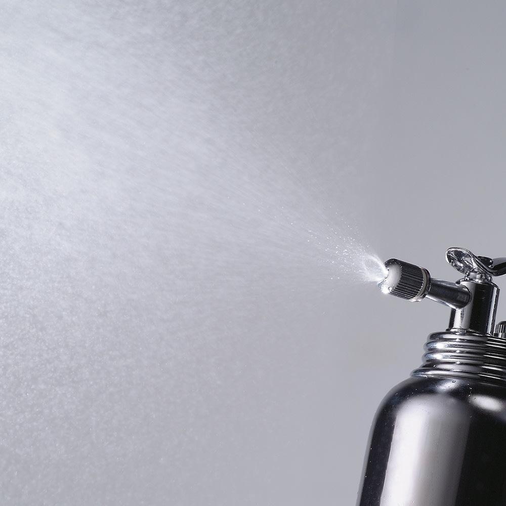 ワイドに広がる微細霧吹き器 とっても細かい霧状のミストがでます