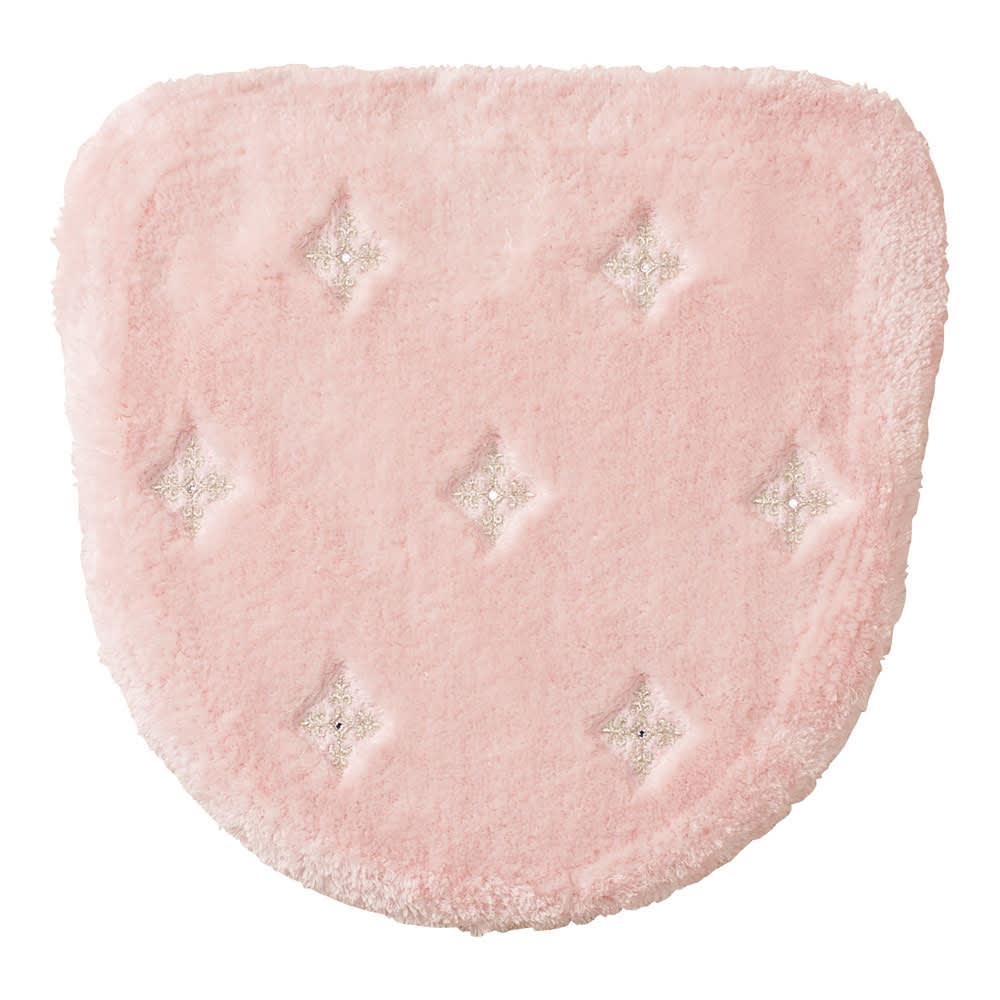 <ニーナス>洗浄暖房器用フタカバー (イ)ピンク