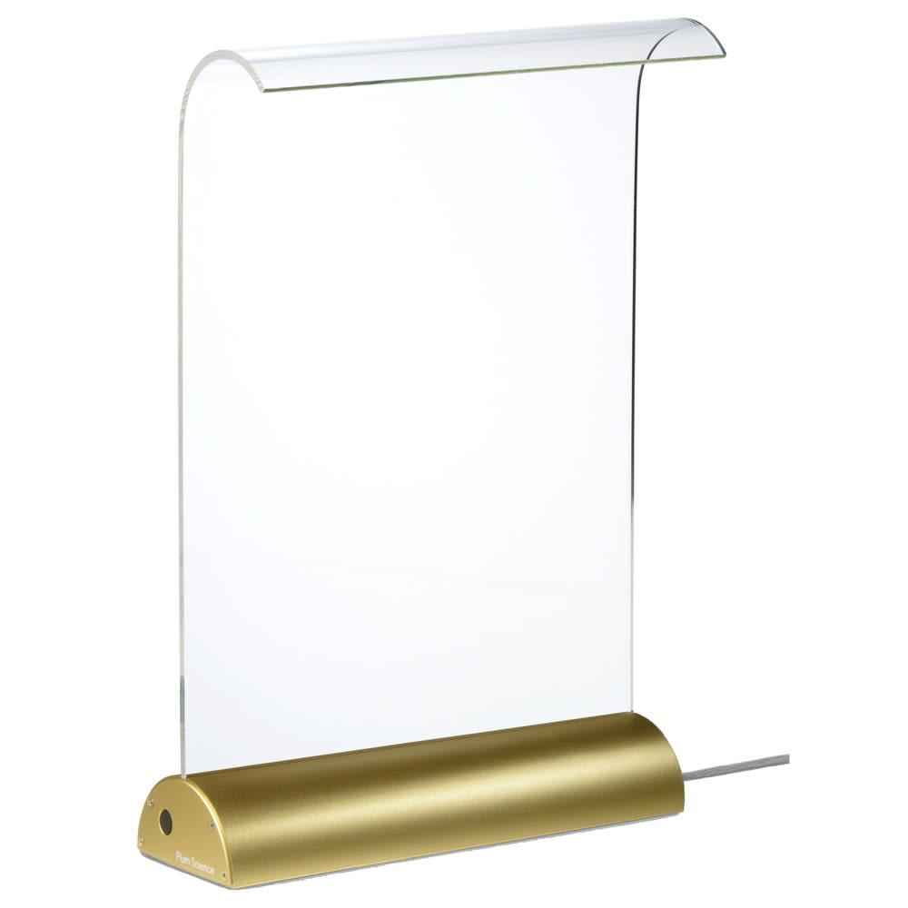 LEDデスクライト Glowide(グローワイド) アルミタイプ (エ)ゴールド