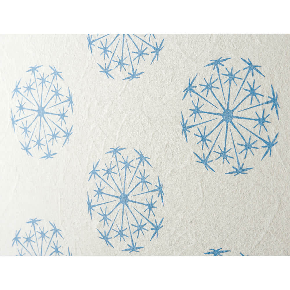 【ディノス特別セット】シート2本組(透けるウォールシート限定柄) 薄い不織布なので、壁の質感を活かし、自然な風合いに仕上ります。