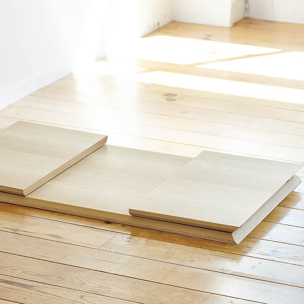 Slim すっきり折りたたみ可能なテーブル 幅120cm