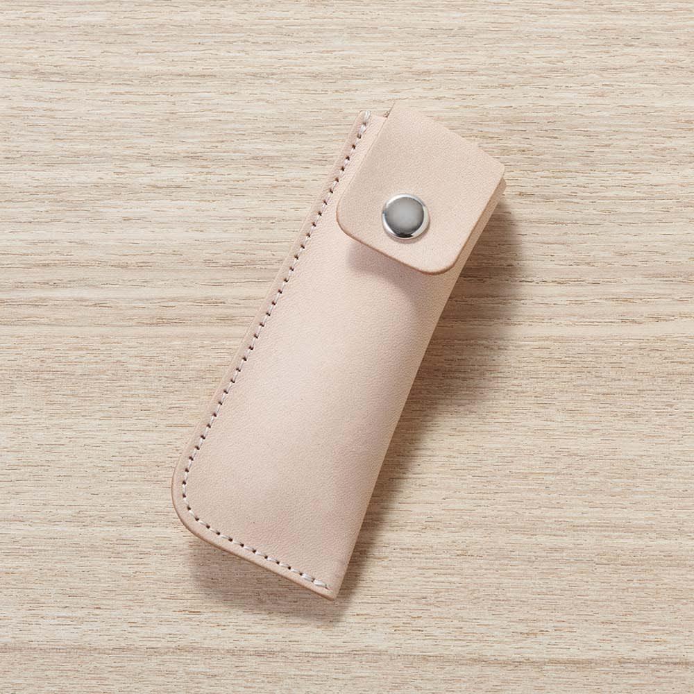 SUWADA(スワダ) ネイルクリッパー ケース付き こだわりのヌメ革を使用したケース付き