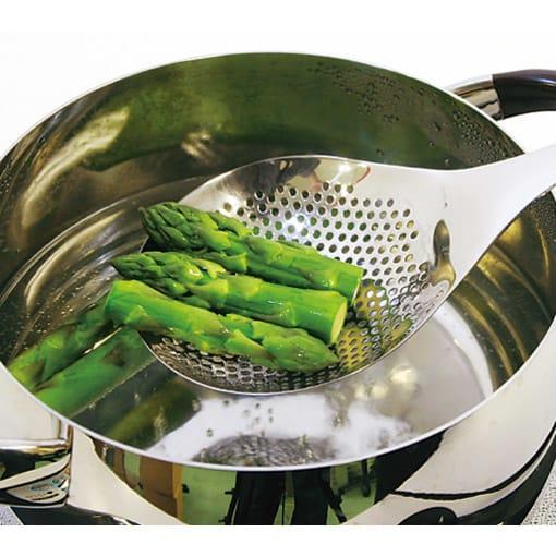 ののじ 穴あきおたも 大 野菜の湯切りやにも便利です