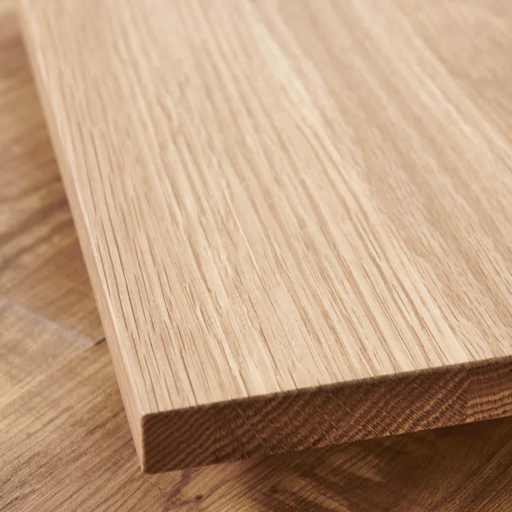 キャスター付きプランターベース ホワイトオーク 角40cm どの空間にも馴染みやすいホワイトオーク天然木