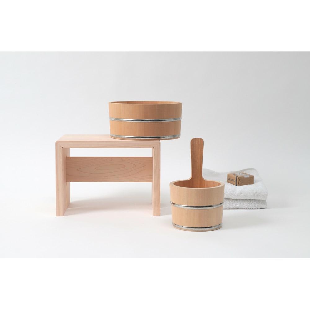 ambai(アンバイ) 風呂道具シリーズ 風呂椅子 大(ハイタイプ) ambaiの風呂道具のシリーズ