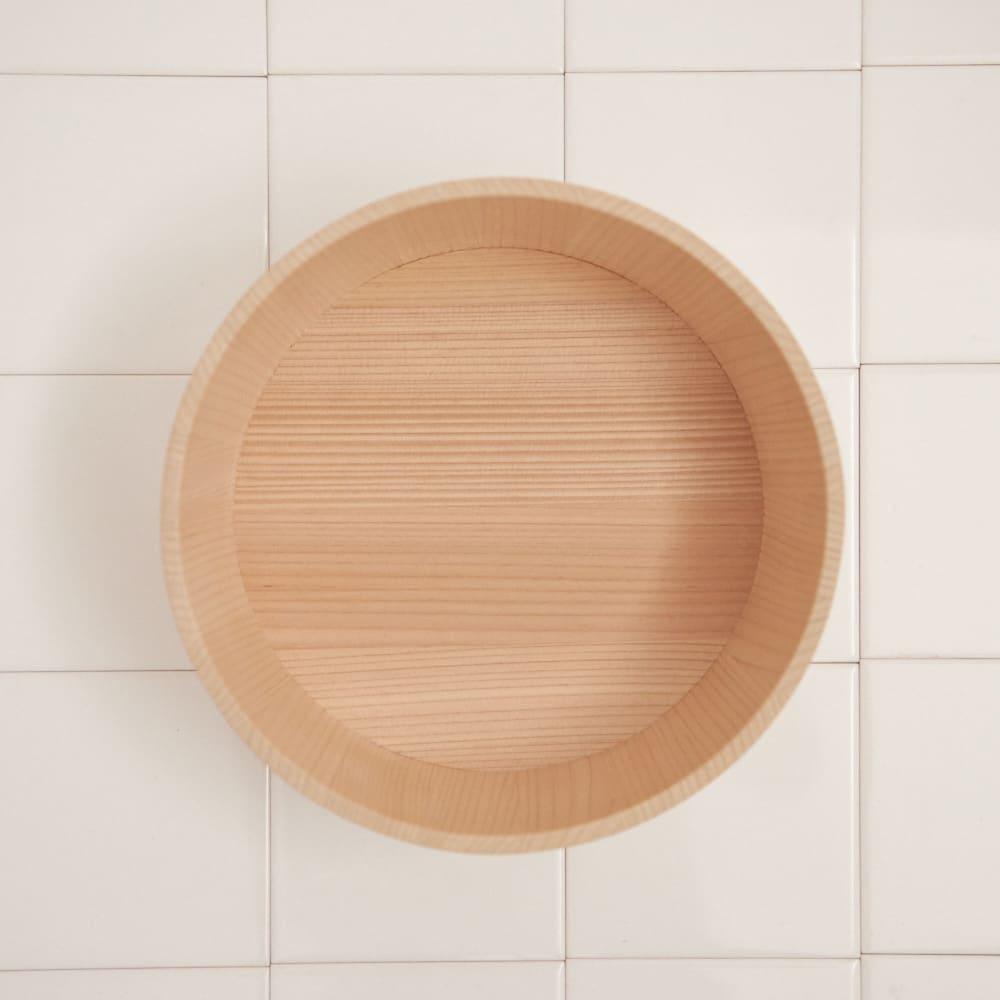 ambai(アンバイ) 風呂道具シリーズ 木曽産さわらの湯桶(風呂桶)