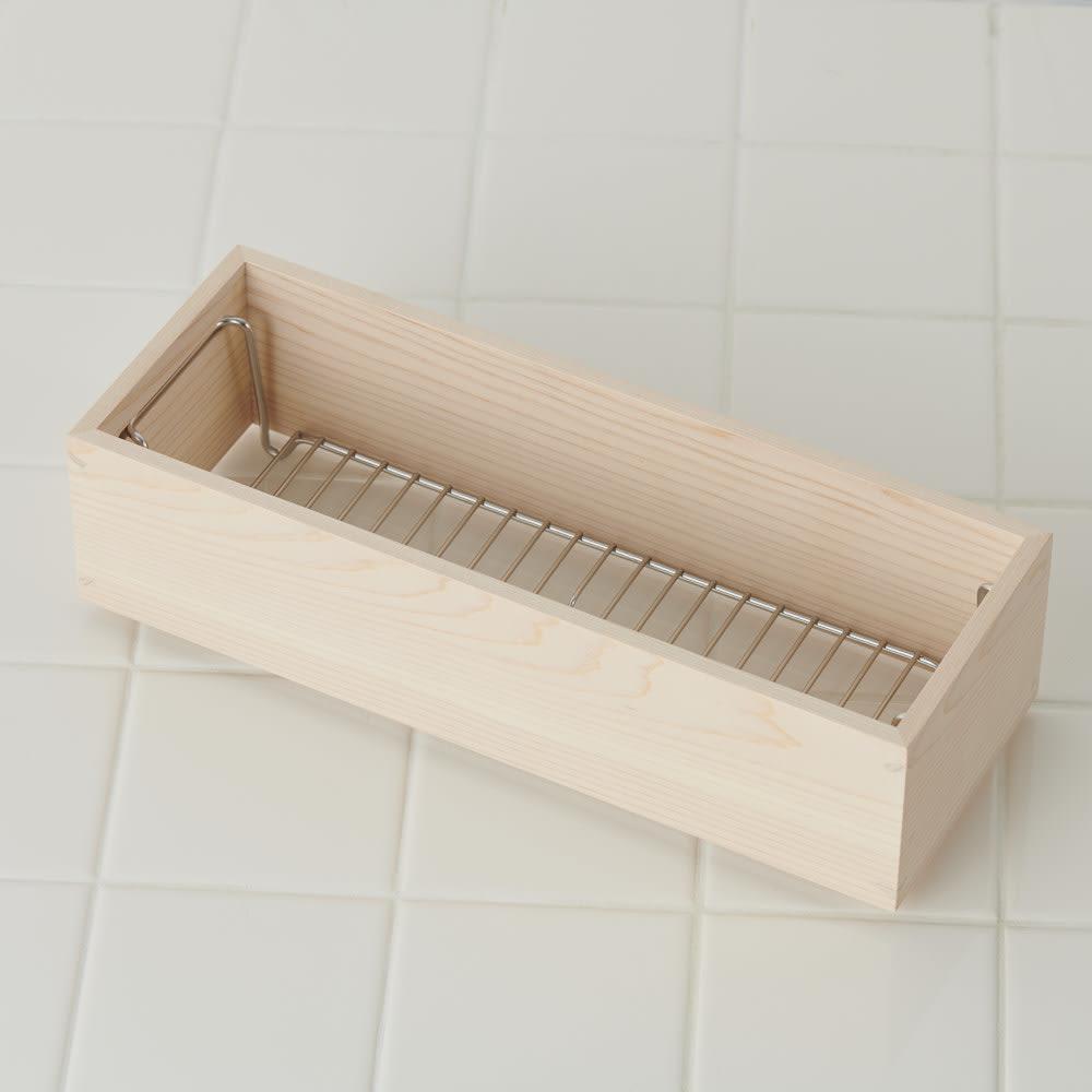 ambai(アンバイ) 風呂道具シリーズ シャンプー&ソープボトルラック