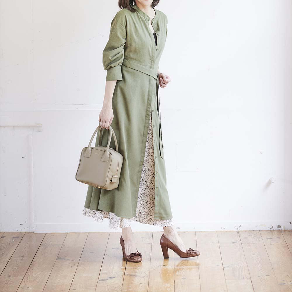 Coquette(コケット) キュービック バッグ パンツにもスカートにも、さらには着物や浴衣にも合わせやすいと評判!