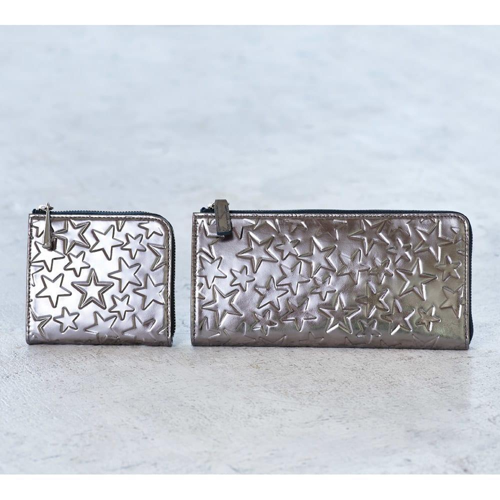 Coquette/コケット L字ファスナー長財布 Coquette/コケット財布 ※左からコンパクト財布、L字ファスナー長財布