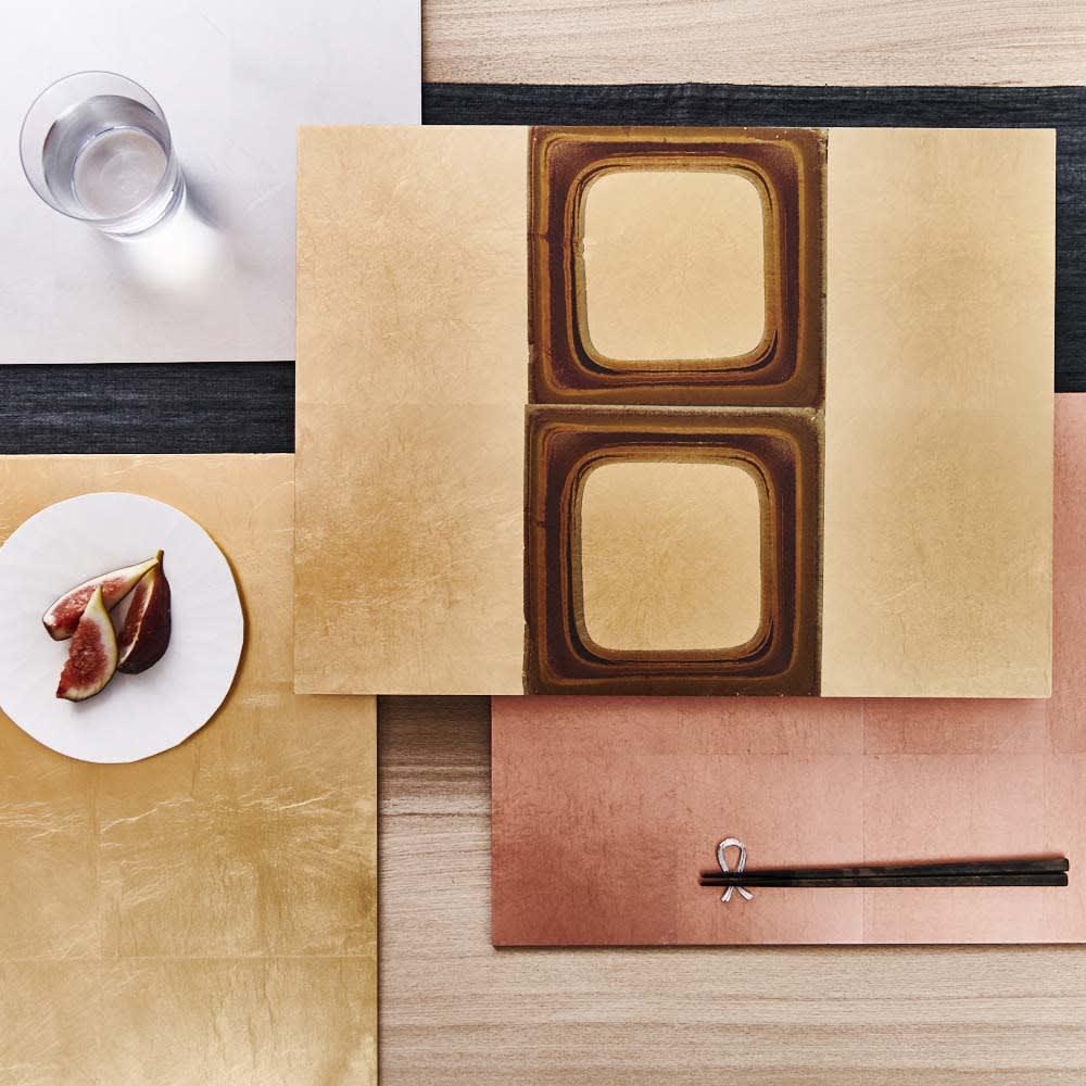 HAKU LA TABLE(ハク ラ ターブル) テーブルマット1枚(約30×40cm) 使用イメージ