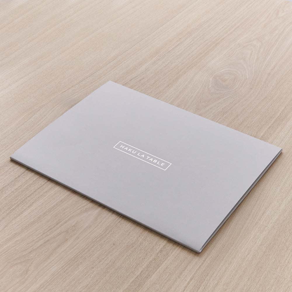 HAKU LA TABLE(ハク ラ ターブル) テーブルマット1枚(約30×40cm) ギフトにも喜ばれるパッケージ入り