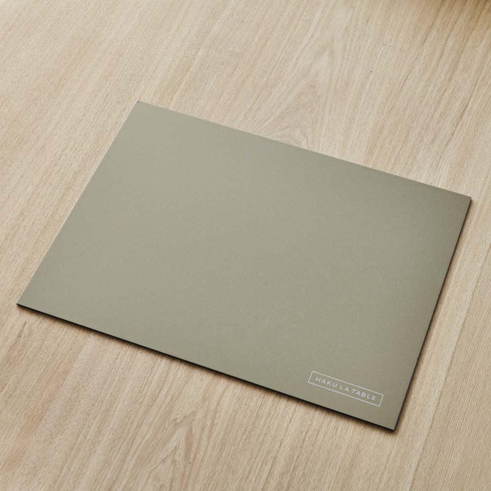 HAKU LA TABLE(ハク ラ ターブル) テーブルマット1枚(約30×40cm) 裏面