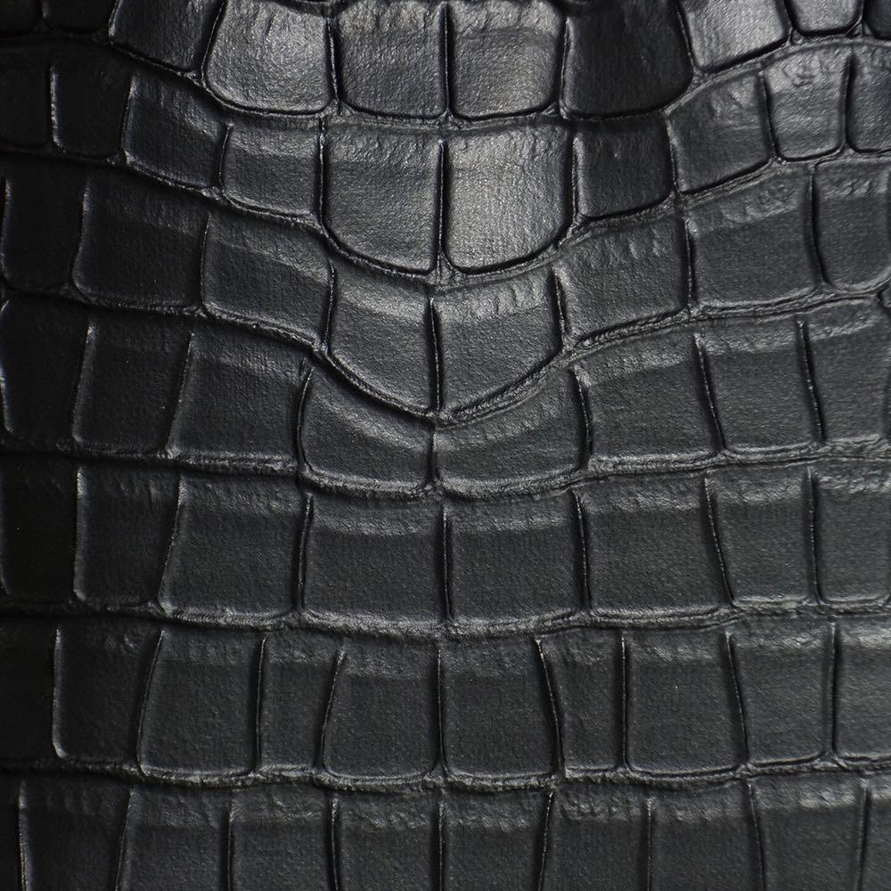 メロディスムーズプラス ブラック(クロコダイル調)