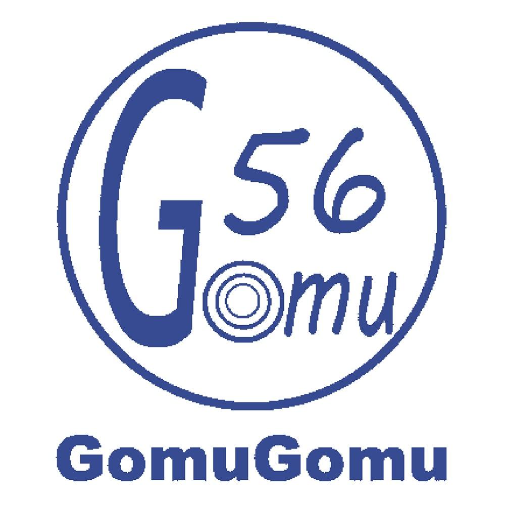 GOMUGOMU/ゴムゴム ラインストーン使いスリッポン