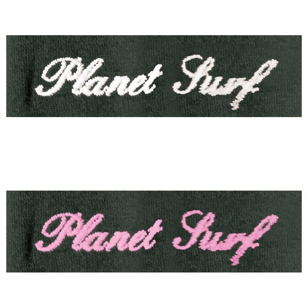 PLANET SURF/プラネットサーフ UVブロックドライVネックワンピース 紫外線量が色で分かるUVチェッカー付き 紫外線量を感知して色で知らせる機能付き。猛暑の日のお出かけは、このサインを見逃さないで。 ※洗濯を繰り返すことで色の変化が薄れていきます。