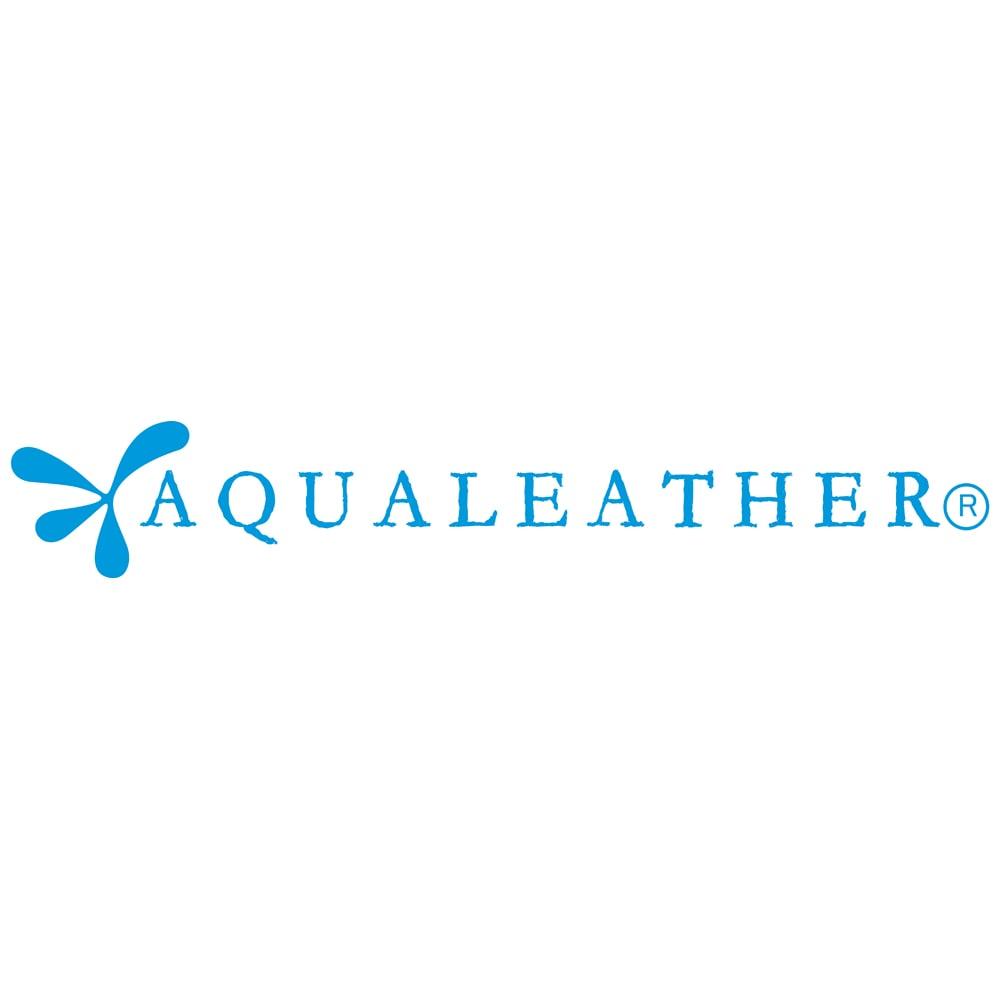 AQUALEATHER(R)/アクアレザー オープントゥウェッジサンダル