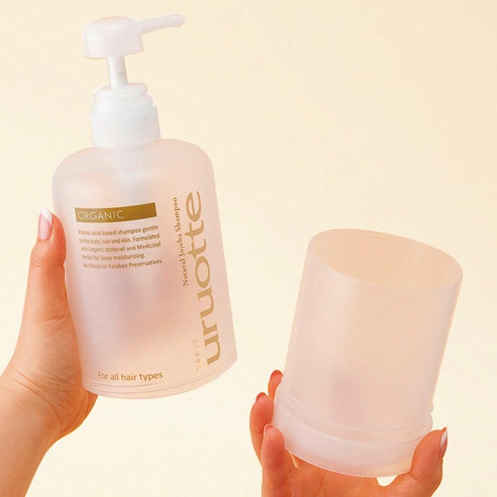 uruotte/ウルオッテ ナチュラルシャンプー ノーブルフラワー&ツリー(500ml) エコパック+専用ボトル 繰り返し使える500ml専用ボトルつき
