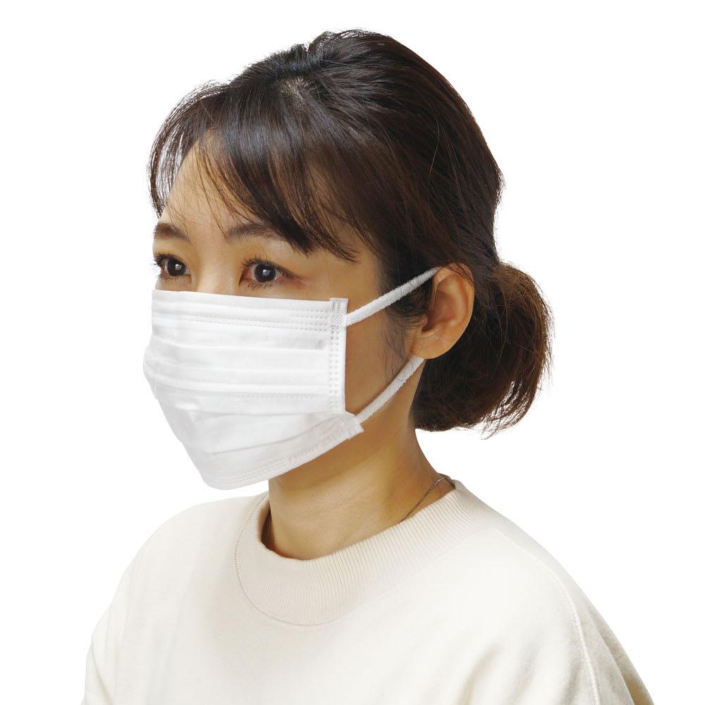 肌側シルクのインナーマスク4枚組