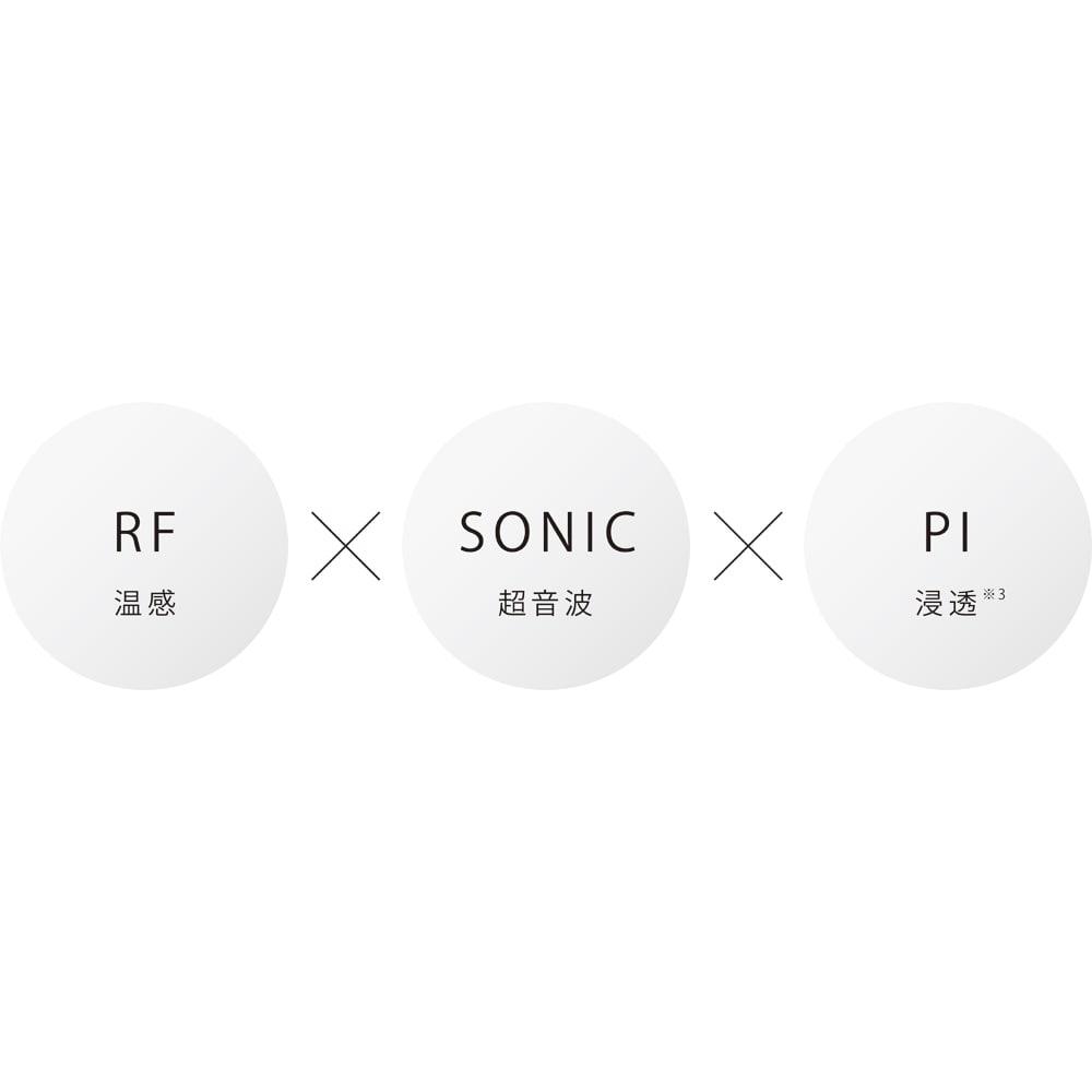 ReFa/リファ リファビューテックレイズ ReFa独自テクノロジー「RF-Wpulse」モード搭載。
