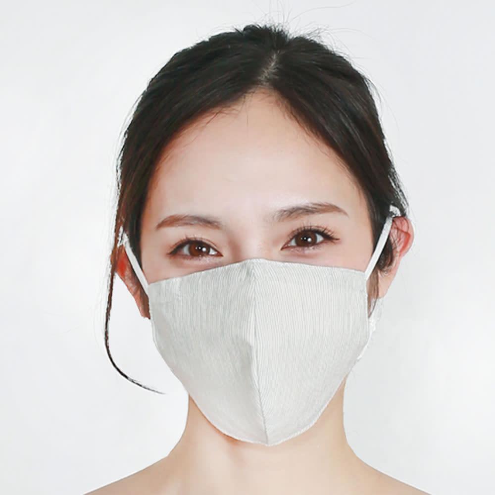 ファブリックケアマスク グレーストライプ 【通販】
