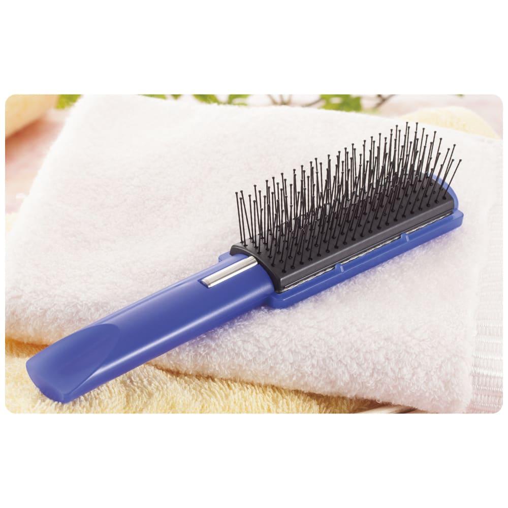 除電ブラシ 柔らか毛先で頭皮を刺激