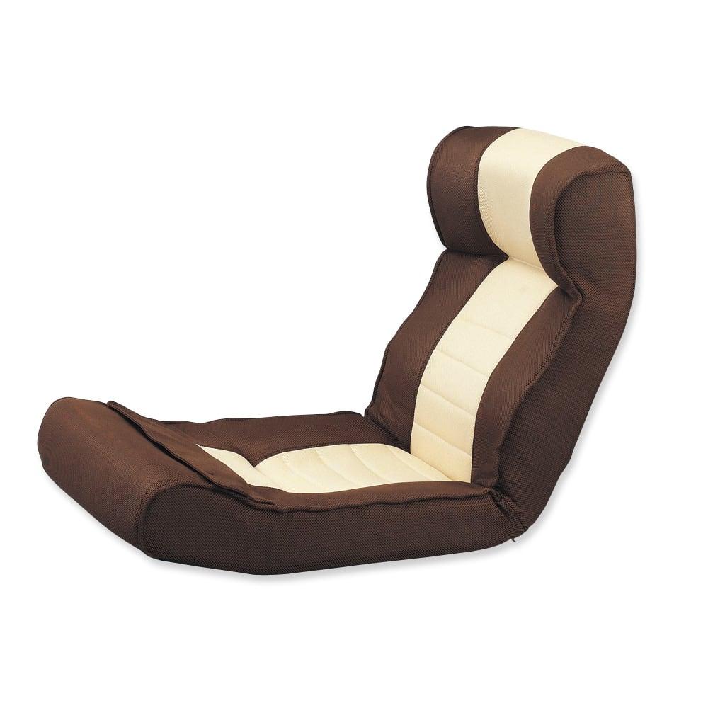 腹筋らくらく座椅子 ヘッドレスト付きで、テレビを見る時も気持ちいい!
