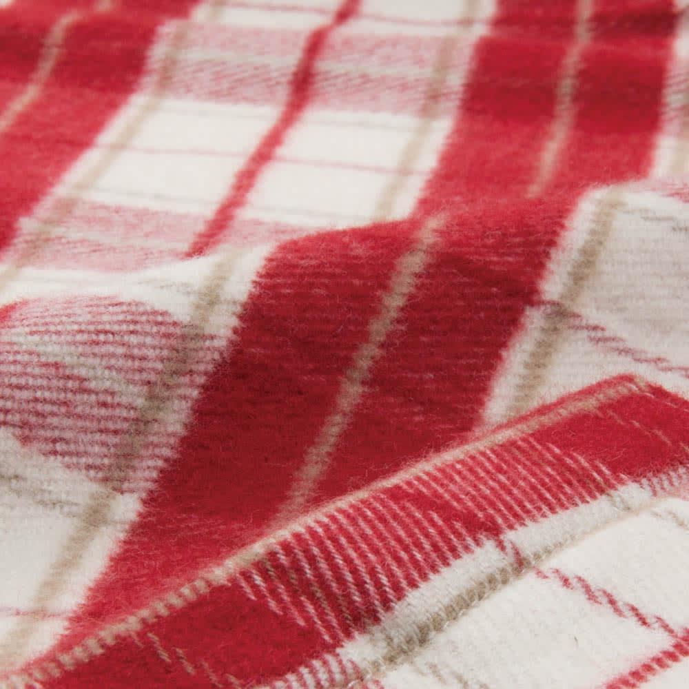 軽くてあったか中空糸パジャマ(綿100%・日本製) ネルシャツ感覚のチェック柄がおしゃれ!