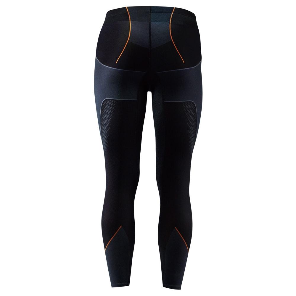 SIXPAD/シックスパッド Training Suit(トレーニングスーツ)  トレーニングスーツ タイツ BACK Tights 引き締まった太ももとヒップライン 脚全体をスパイラル状に包み込み、太もも裏にあるハムストリングに負荷をかけます。ソフトな着圧で日々の生活で着用できます。