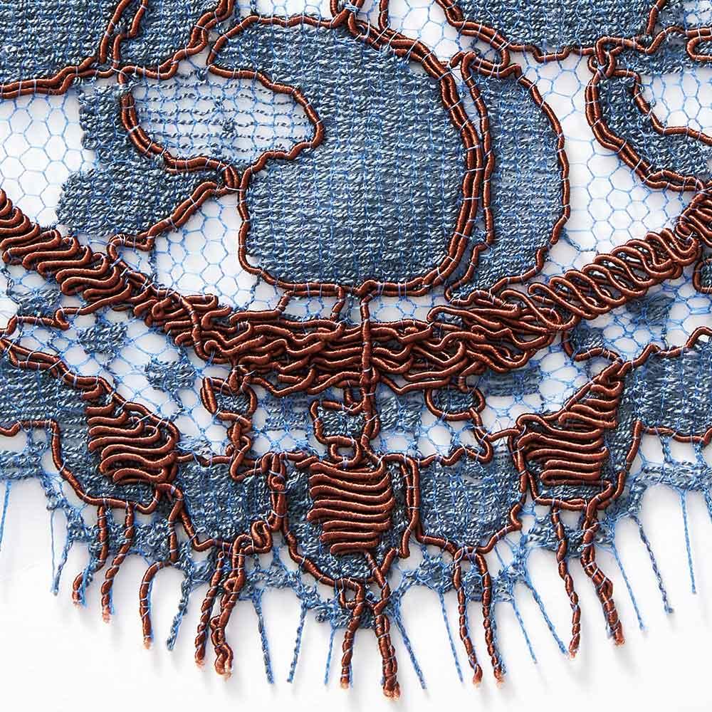 アンドレロード社 リバーレース ワンピース 裾部分