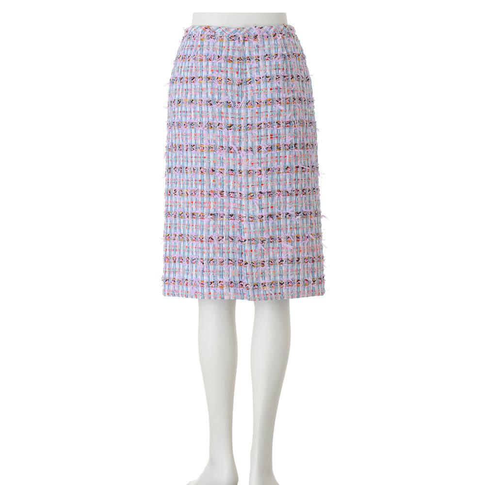 マリア・ケント社 リボンヤーン ツイード スカート