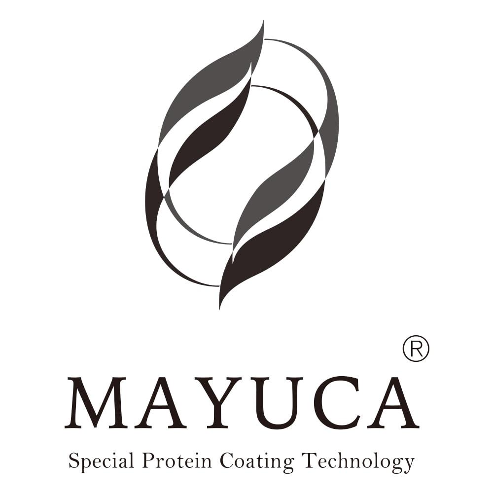 MAYUCA(R) シルク ホールガーメント(R) 五分袖 クルーネック プルオーバー