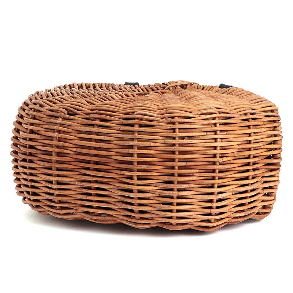 Cachellie/カシェリエ 牛革使い アラログ バッグ BOTTOM