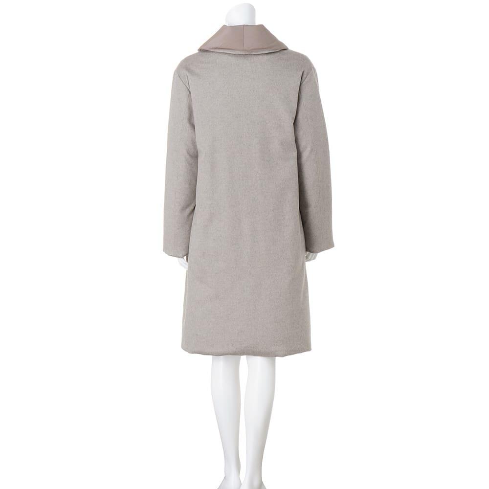 コロンボ社 リバーシブル ダウンコート(イタリア製) 毛織面