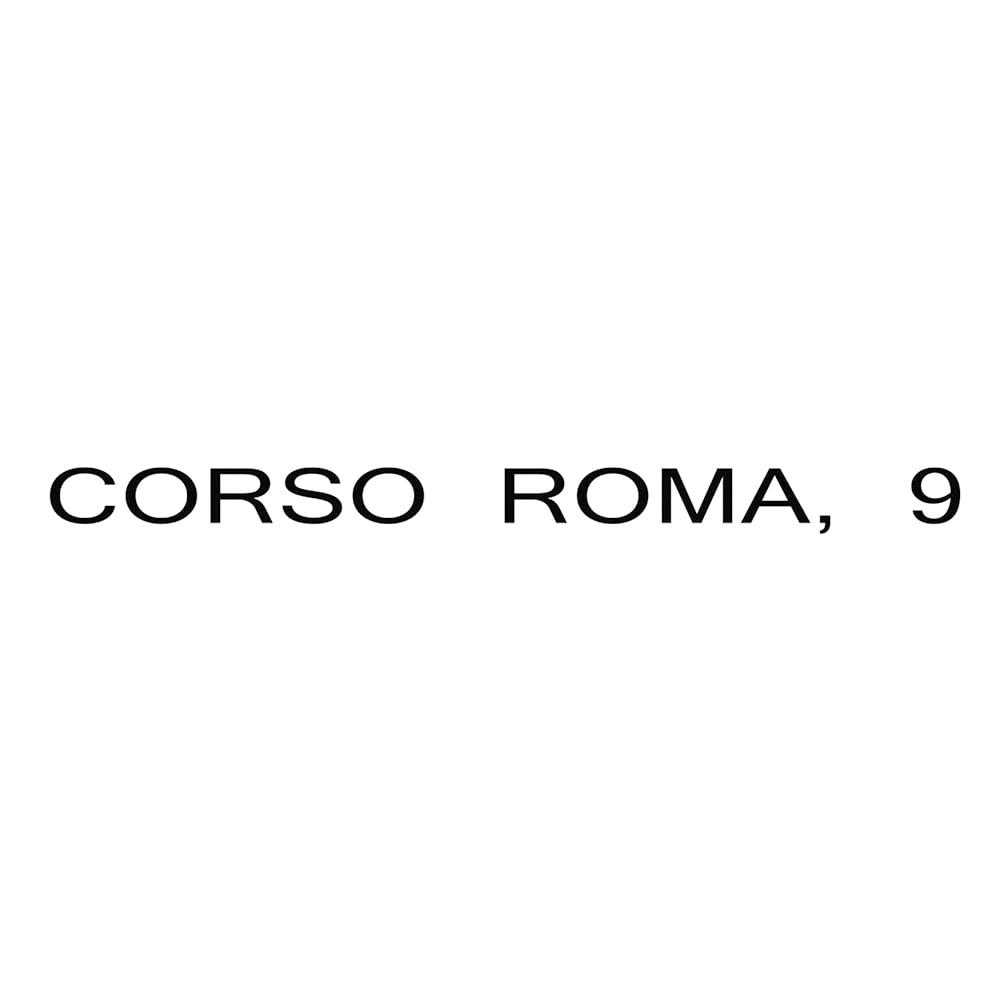 CORSO ROMA,9/コルソローマ ノーヴェ  ラウンドトゥ フラットシューズ(イタリア製)