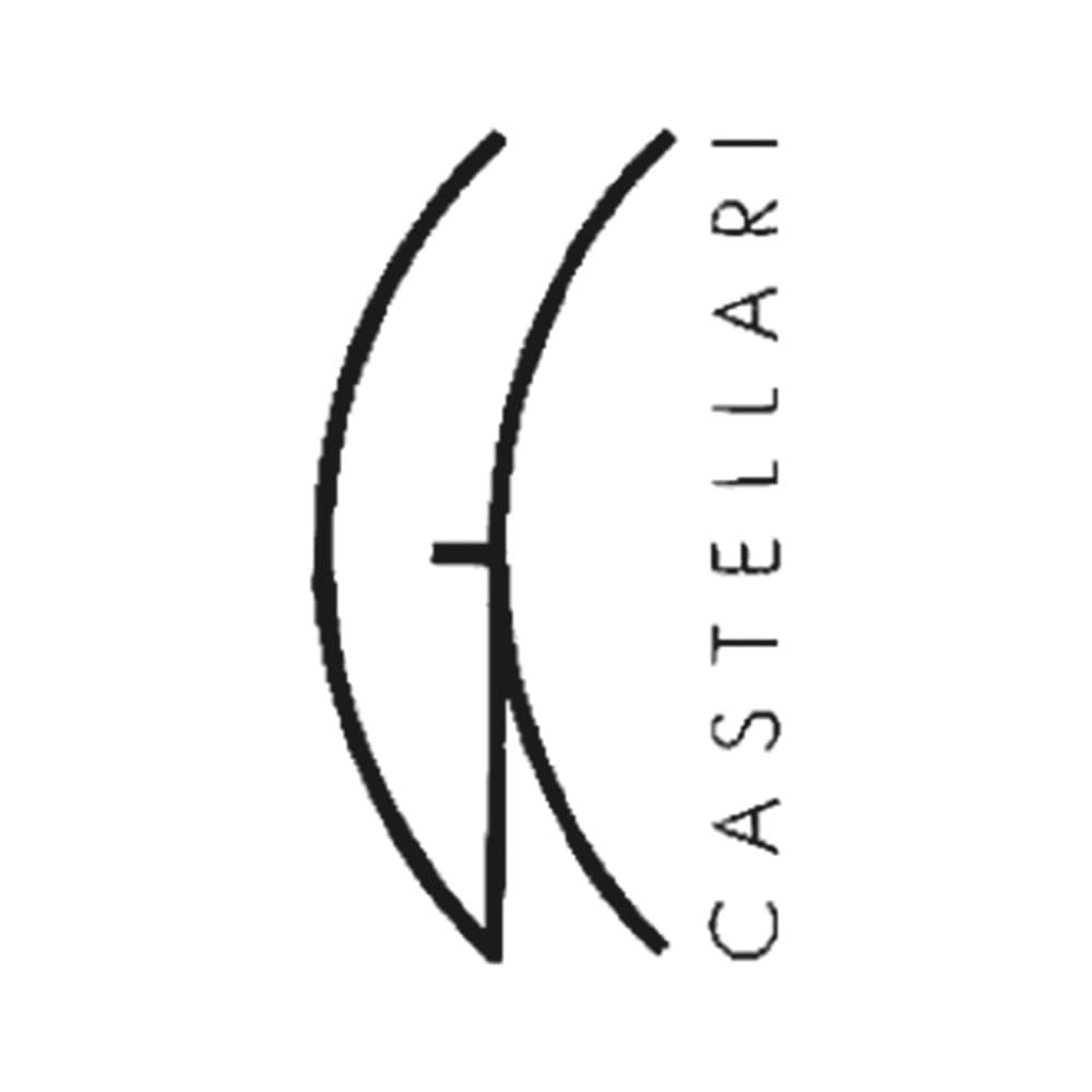 CASTELLARI/カステラーリ サークルハンドル 型押し 2WAY バッグ(イタリア製)