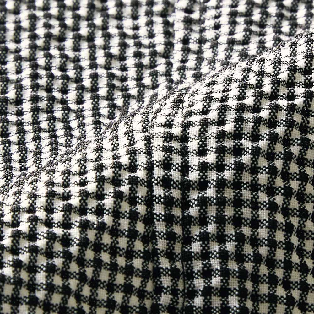 チェルッティ社 ウールサッカー セットアップ(ジャケット+スカート) 生地アップ