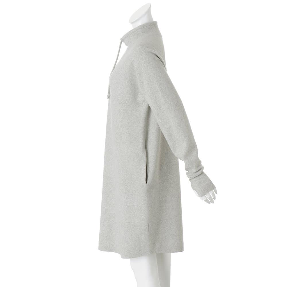 ホールガーメント(R) ワッフル編み ワンピース