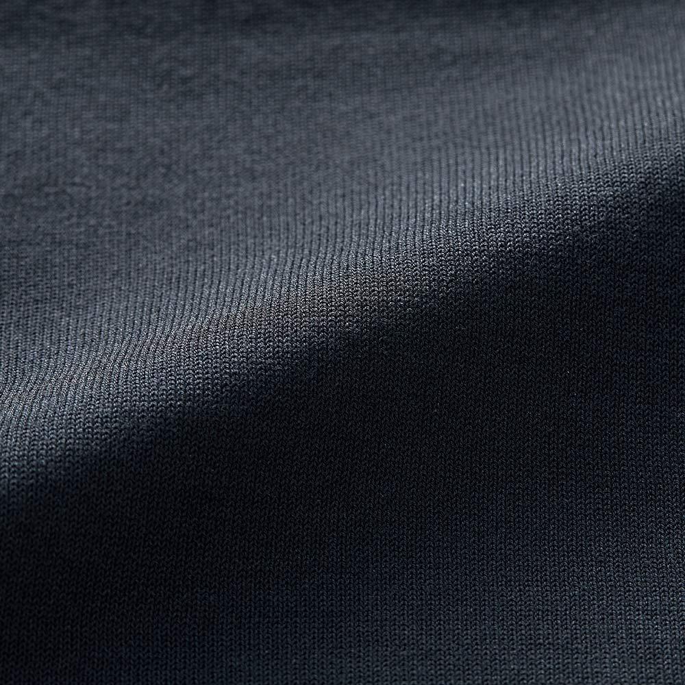 布帛切り替え ニットワンピース ニット部分