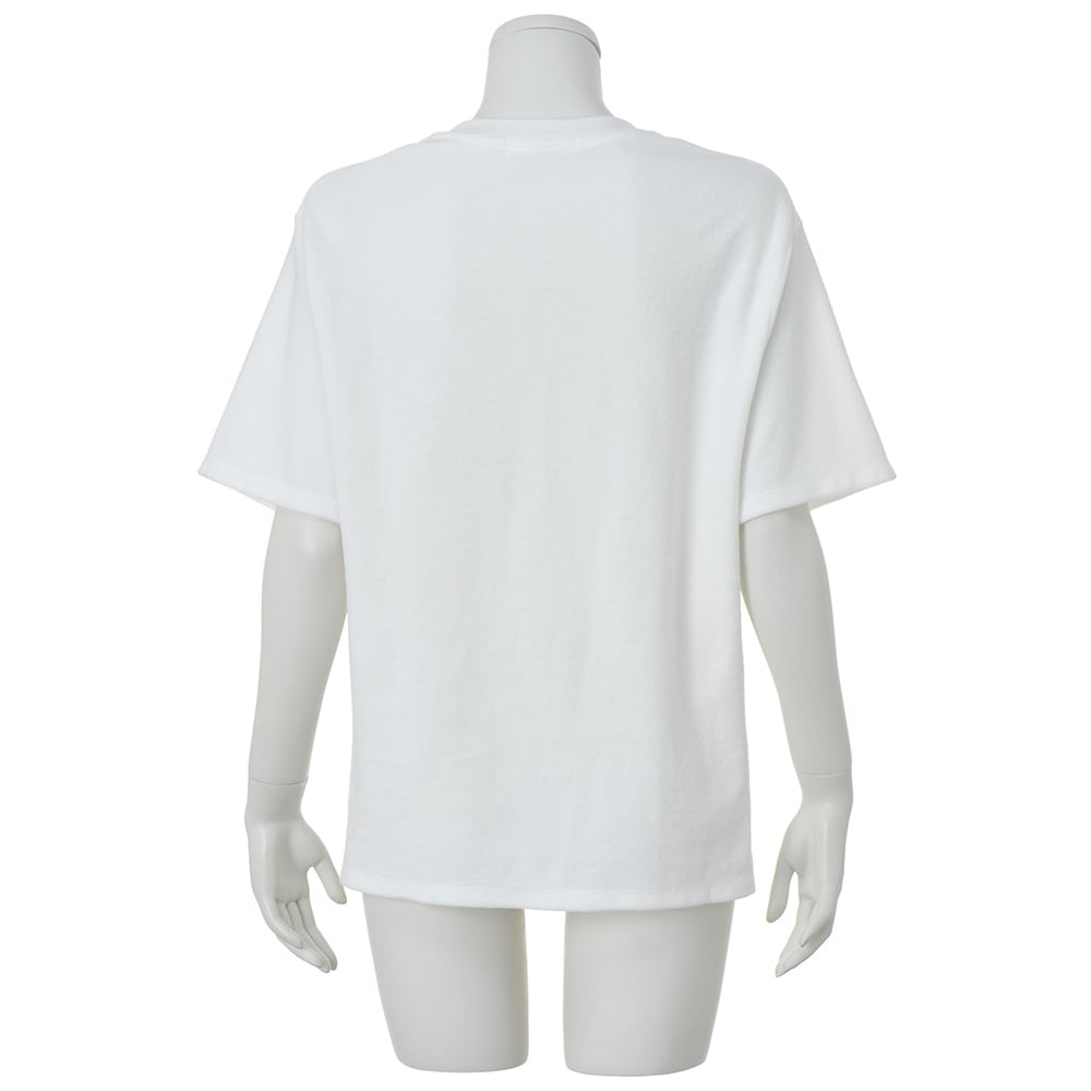 HAAG(R)/ハーグ スマイルコットン パイルTシャツ