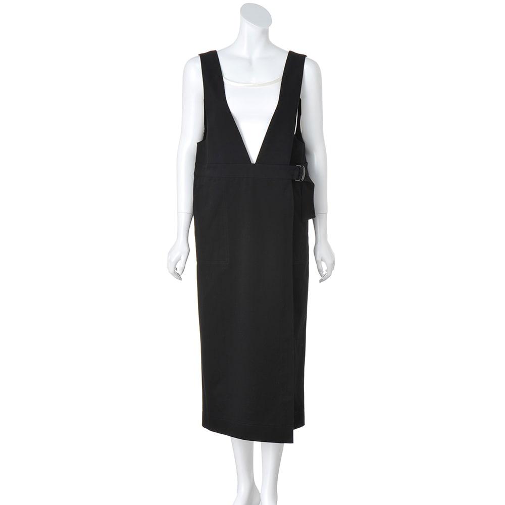イタリア素材 コットン ジャンパースカート