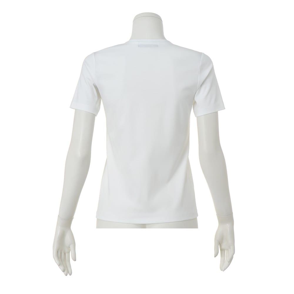 コットンスムース クルーネックTシャツ