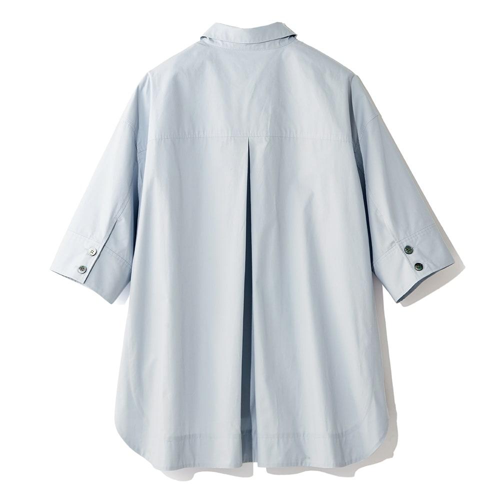 ポケットデザイン ワークシャツ BACK