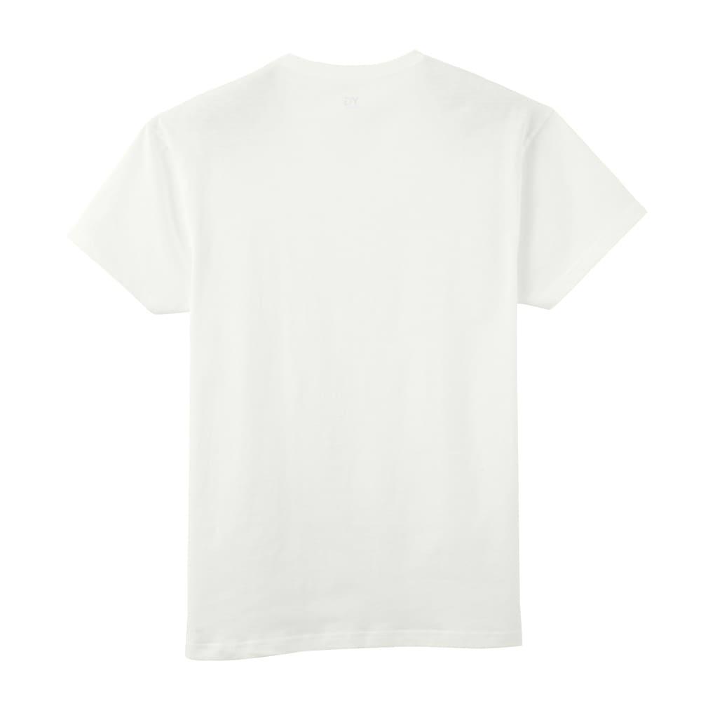 GUNZE/グンゼ YG(ワイジー)超速吸水Tシャツ 同色3枚組シリーズ Vネック Back Style