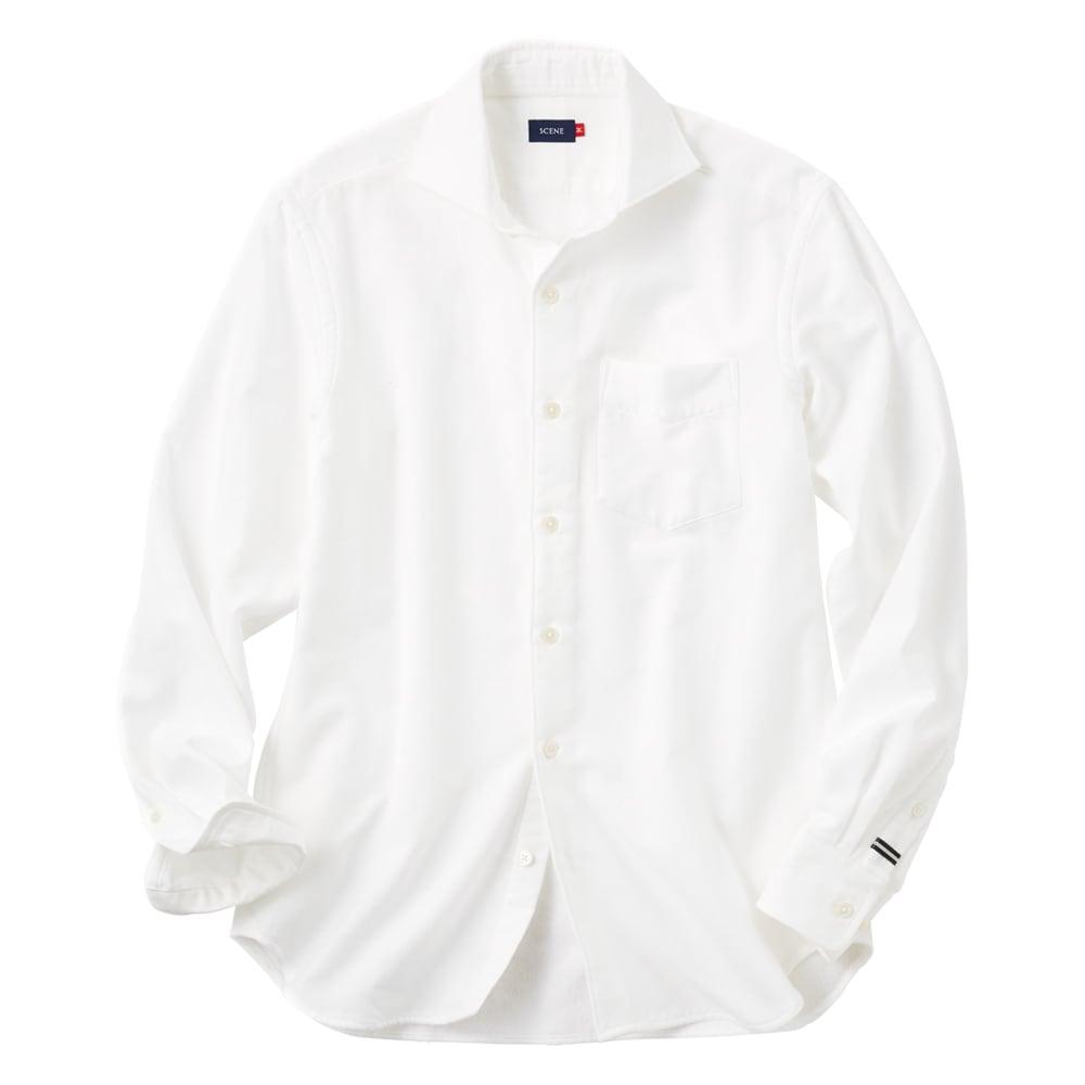 SCENE(R) 今治タオルシャツ (イ)ホワイト