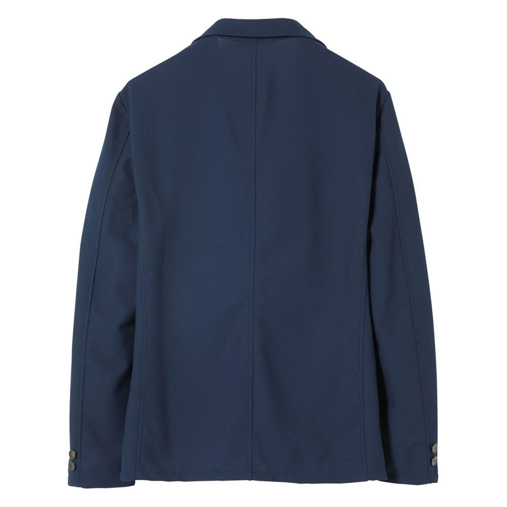 「FIELDSENSOR(R)」 鹿の子編みニットジャケット Back Style