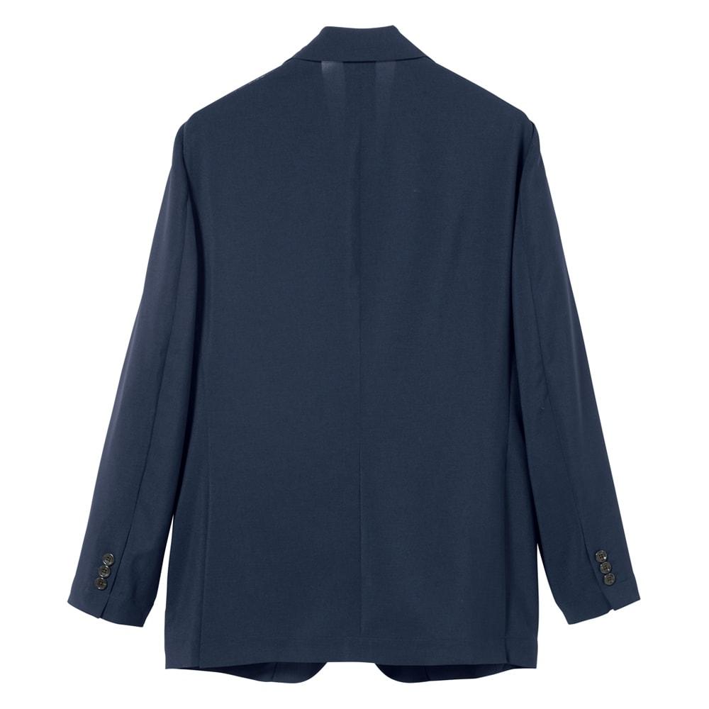 洗える軽量 セットアップシリーズ ジャケット Back Style