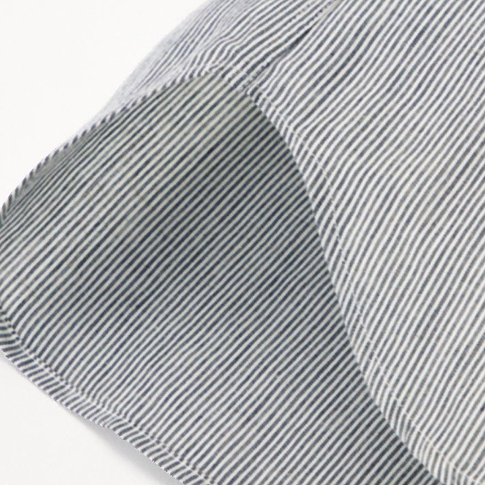 SCENE(R) 7DAYS ジャパンメイドシャツシリーズ リネン混マドラスチェック