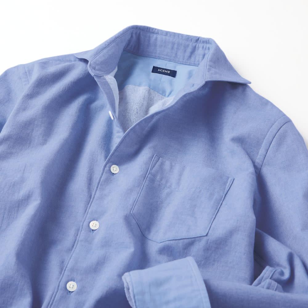 SCENE(R)/シーン 今治タオルシャツ(日本製)
