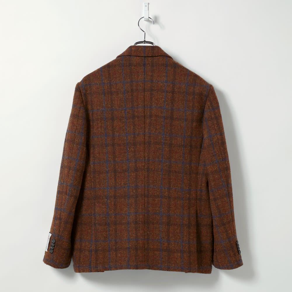 「Harris Tweed」 ウールジャケット Back Style